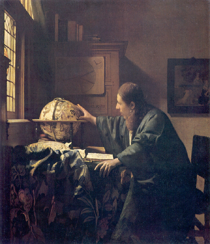 Johannes Vermeer, the astronomer, 1668